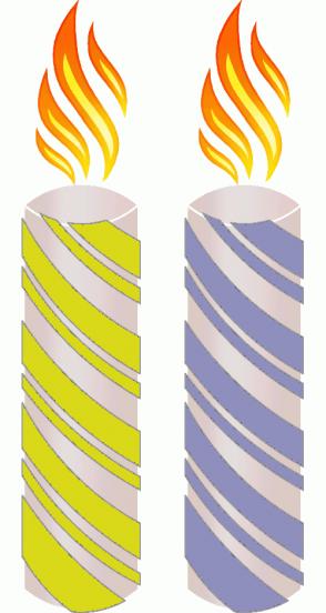 Color Scheme with #D9D919 #8F8FBD
