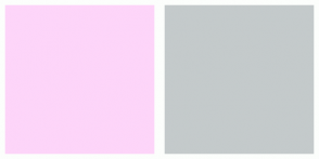 Color Scheme with #FDD5F9 #C4CACB