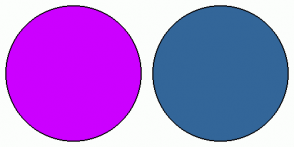 Color Scheme with #CC00FF #336699