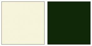 Color Scheme with #F6F4DA #112808