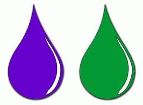 Color Scheme with #6600CC #009933