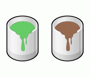 Color Scheme with #66CC66 #97694F