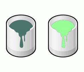 Color Scheme with #4A766E #99FF99