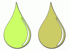 Color Scheme with #CCFF66 #CCCC66