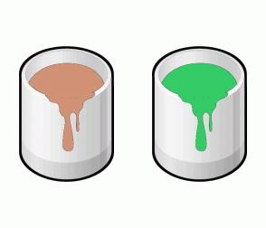 Color Scheme with #D19275 #33CC66