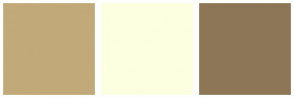Color Scheme with #C1A979 #FCFFE0 #8D7657