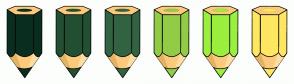 Color Scheme with #092E20 #234F32 #326342 #92CC47 #9AEF3F #FFE761