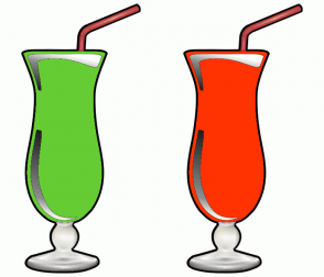 Color Scheme with #66CC33 #FF3300