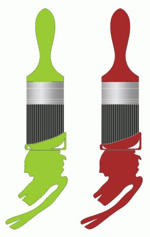 Color Scheme with #99CC33 #A62A2A