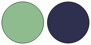 Color Scheme with #8FBC8F #2F2F4F