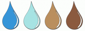 Color Scheme with #3695D8 #A7E3E3 #BA8F5E #8B5A3F