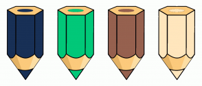 Color Scheme with #183056 #01C879 #96614F #FFE6BD