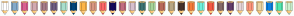 Color Scheme with #FFFFFF #84ABCA #DA6091 #D2A9B0 #A57B89 #6D5C81 #A8DECC #01457A #FDB647 #D89681 #FD6766 #13085A #C16C80 #D6BFCD #3D7472 #A7D499 #B8695A #B8A784 #46322B #F57B39 #6FEFDB #F45744 #856968 #643D6C #E6D4D7 #FF947B #EAD3A2 #0C81E4 #4FE7AF #CCF1CD