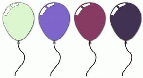 Color Scheme with #DCF7D0 #7F66CA #873B63 #413252
