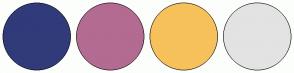 Color Scheme with #313B7A #B36B92 #F7C15B #E3E3E3