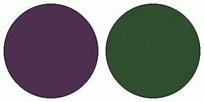 Color Scheme with #4F2F4F #2F4F2F