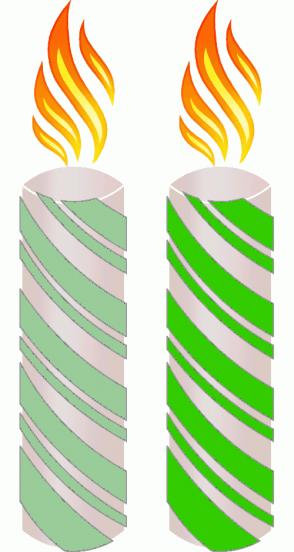 Color Scheme with #99CC99 #33CC00