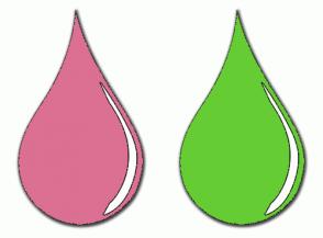 Color Scheme with #DB7093 #66CC33