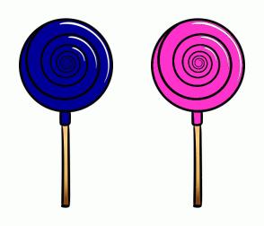Color Scheme with #000099 #FF33CC