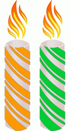 Color Scheme with #FF9900 #00CC33