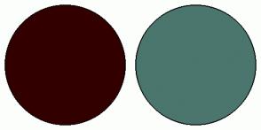 Color Scheme with #330000 #4A766E