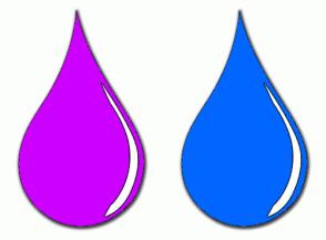 Color Scheme with #CC00FF #0066FF