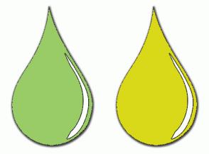Color Scheme with #99CC66 #D9D919