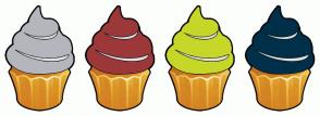 Color Scheme with #B5B6BD #9C3839 #C6D729 #00304A