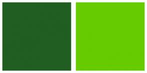 Color Scheme with #215E21 #66CC00