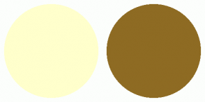 Color Scheme with #FFFFCC #8E6B23