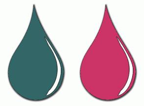 Color Scheme with #336666 #CC3366