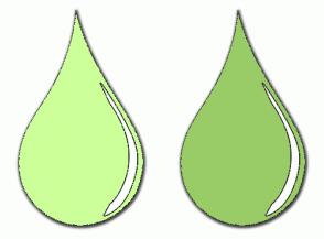 Color Scheme with #CCFF99 #99CC66