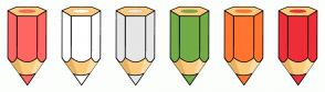 Color Scheme with #FF6662 #FFFFFF #E6E6E6 #73AB46 #FF752F #EF2E38