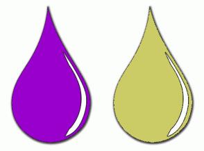 Color Scheme with #9900CC #CCCC66