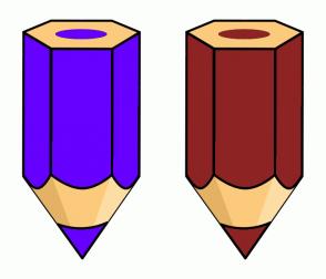 Color Scheme with #6600FF #8E2323