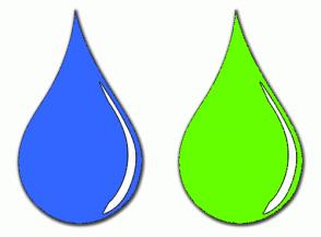 Color Scheme with #3366FF #66FF00