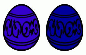 Color Scheme with #3300CC #00009C