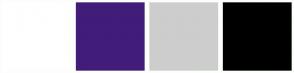 Color Scheme with #FFFFFF #421C79 #CDCDCD #000000