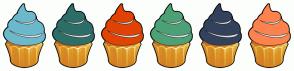 Color Scheme with #6CB9CC #2E6E68 #E04304 #4CA176 #33425C #FC824E