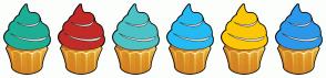 Color Scheme with #1DAF96 #C22B27 #4CC3C7 #24BBF2 #FCC704 #2C98EB