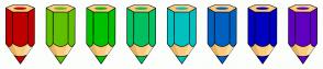 Color Scheme with #BF0000 #60C000 #00C000 #00C060 #00C0C0 #0060C0 #0000C0 #6000C0
