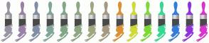 Color Scheme with #9995A2 #9981A6 #818EA6 #81A699 #81A687 #8EA681 #A1A681 #A69981 #DB9132 #D1DB32 #7CDB32 #32DB91 #327CDB #9132DB #DB32D1