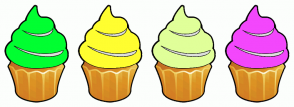 Color Scheme with #00FF31 #FFFE30 #E0FF99 #F347FC