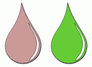 Color Scheme with #CC9999 #66CC33