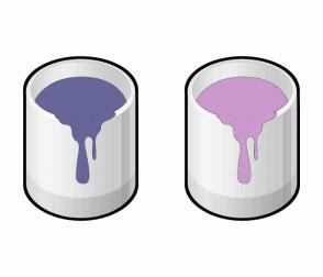 Color Scheme with #666699 #CC99CC