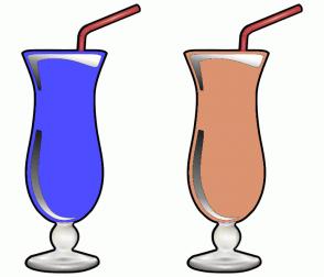Color Scheme with #4D4DFF #DB9370