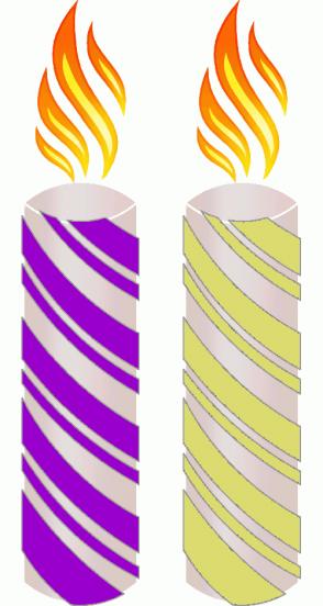 Color Scheme with #9900CC #DBDB70