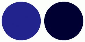 Color Scheme with #23238E #000033