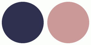 Color Scheme with #2F2F4F #CC9999