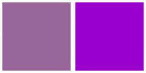 Color Scheme with #996699 #9900CC